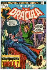 TOMB OF DRACULA  19    BLADE DISCOVERS HE IS IMMUNE