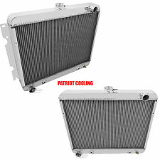 """Big Block"" 1970-1971 Dodge Challenger 4 Row CHAMPION Aluminum Radiator"