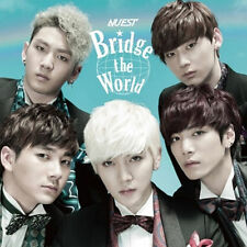 "NU'EST - BRIDGE THE WORLD Japan 1st Album  CD + Photobook 2017 "" Sealed "" NUEST"