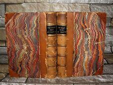 Eminent Men of Italy/ France vol 1 & 2 1833-1839 HB