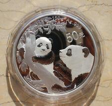 2021 China Silver 150g  (150 Grams) Panda Coin