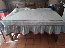 Couvre lit de coin ou banquette de 90x185cm en coton piqué SOULEIADO VINTAGE