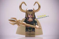 LEGO Custom Minifigures Devilish Dame Brothersfigure Marvel Avengers Loki Lady