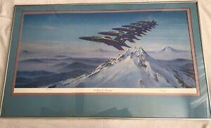 Northwest Passage U.S. Navy Blue Angels SIGNED   John Stahr SMALL (Broken GLASS)