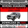 # OFFICIAL WORKSHOP Repair MANUAL for MITSUBISHI PAJERO II 1991-1999 WIRING #