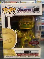 Funko Pop Yellow Chrome Hulk #499 Special Edition