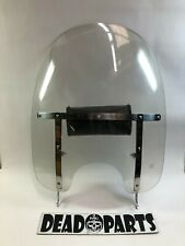 Harley Heritage Softail FLST  detachable windshield windscreen with studded bag