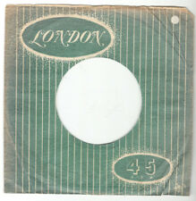 LONDON RECORDS SLEEVE FROM AUSTRALIA FOR 45 RPM 7 INCH RECORD