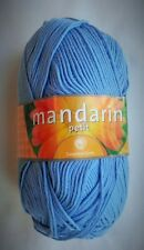 Sandnes Garn Mandarin Petit Yarn Egyptian Cotton - 6015 Medium Blue