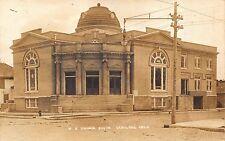Real Photo Postcard M.E. Church South in Okmulgee, Oklahoma~110898