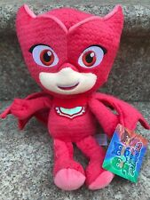 "PJ Masks Character Red Owlette 11"" Plush Doll Stuffed Animal Boy Girl Toy NWT"