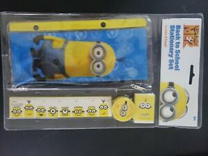New Despicable Me School Supply Stationery Set for Kids