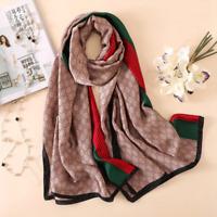 Silk Scarf Women Luxury Scarves 2020 New designer Large Long Shawl wraps Bandana