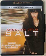 SALT 4K ULTRA HD BLU RAY 2 DISC SET FREE WORLD WIDE SHIPPING ANGELINA JOLIE BUY