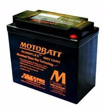 Motobatt Agm Batería para HARLEY DAVIDSON NIGHT ROD