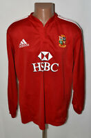 BRITISH AND IRISH LIONS 2000`S RUGBY UNION SHIRT JERSEY ADIDAS SIZE XL ADULT