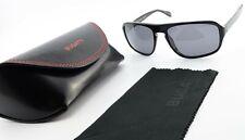 OLIVER PEOPLES Sonnenbrille OV 5103 1005 Callan Black Polarized + BUGATTI Case