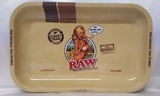 RAW 7X11 Organic Classic Rolling Papers GIRL Metal Tray The Natural Way