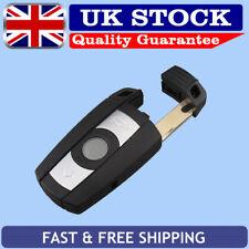 Remote Key Fob Case 3 Button + Uncut Blade For BMW 1 3 5 6 7 Series E90 E92 E93