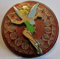 Disney WDW Stained Glass Princess Series Tinker Bell Pin