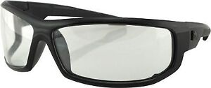 AXL Sunglasses Bobster Eyewear Black/Clear Lens EAXL001C