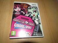 Monster High : Ghoule Spirit Nintendo Wii Pal
