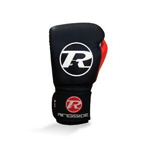 Ringside Junior Leather Training Boxing Gloves 8oz Childrens Kids Mitts