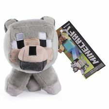 Minecraft Baby Wolf Plush Toy - NEW - FREE FAST USA SHIPPING