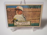 1952 Topps 46 Gordon Goldsberry RC Red Back VG 3 St. Louis Browns-1 St. Base