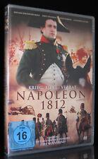 DVD NAPOLEON - 1812 - KRIEG, LIEBE, VERRAT - RUSSISCHE VERFILMUNG (RUSSLAND) NEU