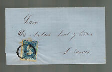 1877 Mexico Letter Cover to Linares