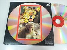Time Life le Léopard - Singes de la Inde Leon Autruche - Laserdisc Ld