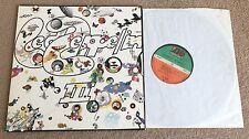 LED ZEPPELIN Led Zeppelin III German issue Vinyl LP EXCELLENT CONDITION 3 Three