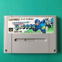 ROCKMAN Soccer Super Famicom Game Cartridge SFC