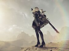 POSTER NIER: AUTOMATA NIER ANDROID YORHA 2B 9S A2 ROBOT GAME GIOCO PS4 FOTO #13