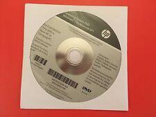WINDOWS 7 Pro SP1 64 bit HP Compaq Operating System DVD 650435-a26 FREE P+P inUK