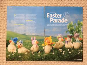ALAN DART FLUFFY DUCKLINGS KNITTING PATTERN - Easter Parade