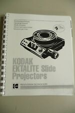 Instructions slide projector KODAK EKTALITE English -   CD/EMail