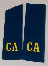 Soviet Army CA Air Force Airborne Paratrooper blue shoulder boards ranks