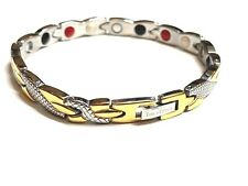 Authentic ION EFFECT Negative Ion Bracelet  BALANCE life Energy SILVER GOLD