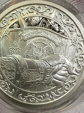 *GORGEOUS!!!* 2 Troy Oz .999 Fine Silver Art Round - *VERY LIMITED* Knight Coin