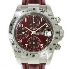 Tudor Chrono Time Tiger 79280P Date Automatic Bordeaux Dial Mens 90093412