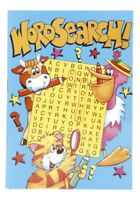 A6 Word Search Puzzle Activity Book - Kids Child Fun Game Arts Crafts Party Bag