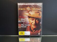 Classic John Wayne Double DVD Blue Steel The Lucky Texan