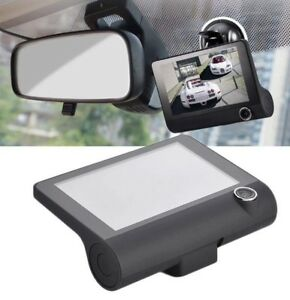Triple Lenses DVR Dush Camera Car Outdoor and Indoor Video Surveillance