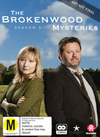 BROKENWOOD MYSTERIES SEASON 5 (DVD) (PAL) (REGION 2,4) NON-US FORMAT