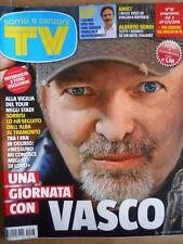 TV Sorrisi e Canzoni n°18 2015 Speciale Copertina Vasco Rossi  [D46]