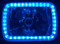 Ford F100 F150 F250 F350 Bronco Hilux MK Patrol Triton Blue Angel Halo Headlamps
