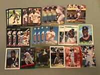 EE) Lot of 43 MO VAUGHN Baseball Cards RC's RED SOX TOPPS DONRUSS SCORE