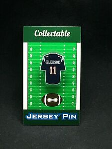 New England Patriots Drew Bledsoe jersey lapel pin-Classic team Collectable